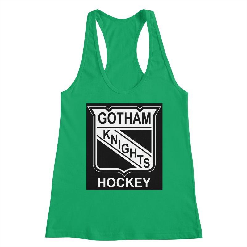 Gotham Knights Hockey Women's Tank by punkrockandufos's Artist Shop