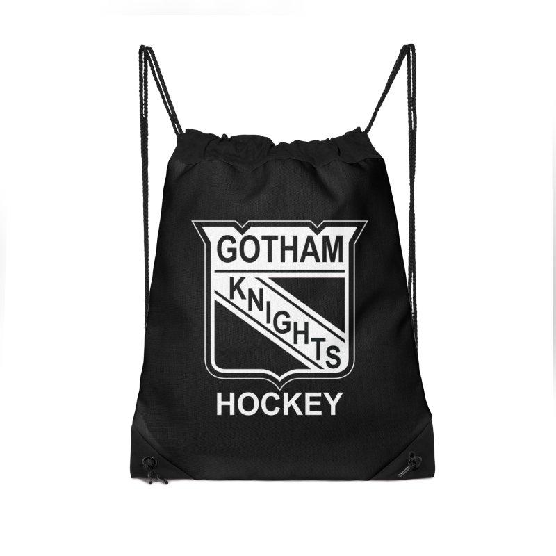 Gotham Knights Hockey Accessories Bag by punkrockandufos's Artist Shop