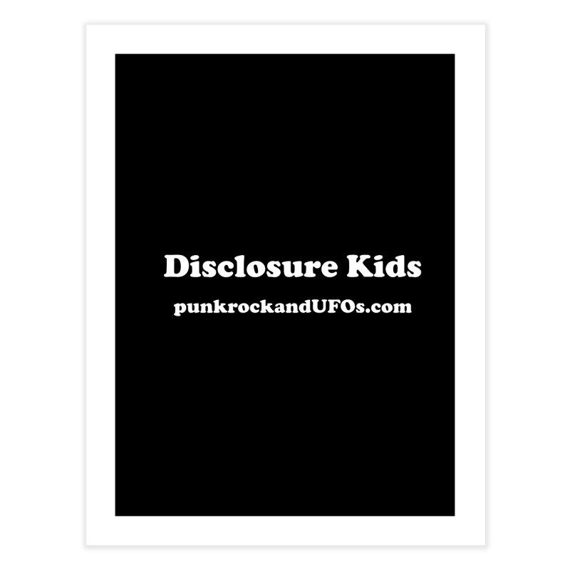 Disclosure Kids Home Fine Art Print by punkrockandufos's Artist Shop