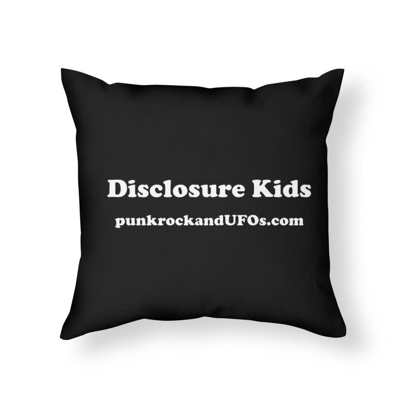 Disclosure Kids Home Throw Pillow by punkrockandufos's Artist Shop