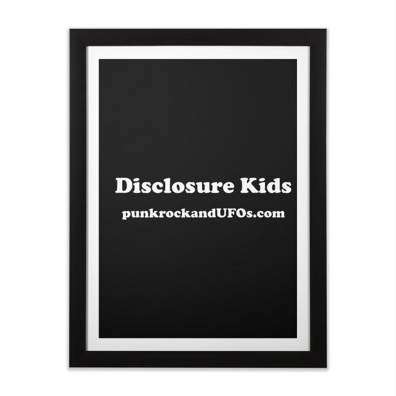 Disclosure Kids Home Framed Fine Art Print by punkrockandufos's Artist Shop