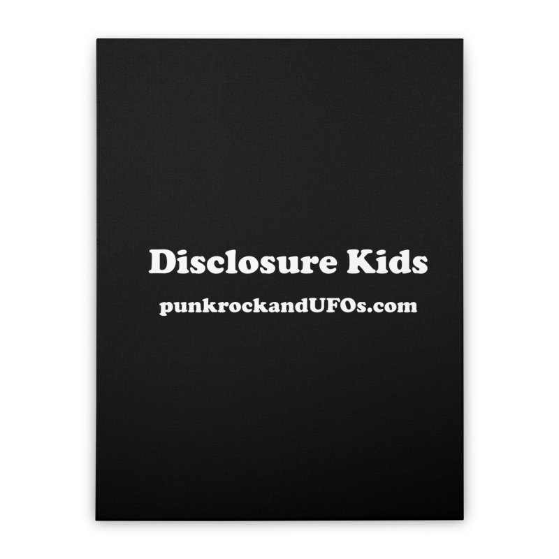Disclosure Kids Home Stretched Canvas by punkrockandufos's Artist Shop