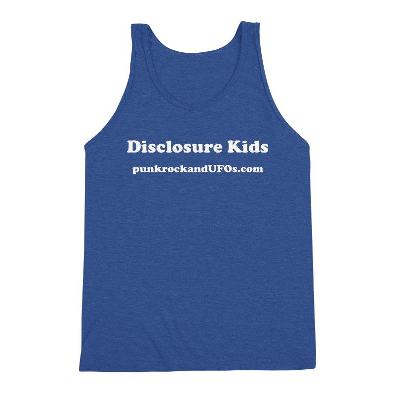 Disclosure Kids Men's Tank by punkrockandufos's Artist Shop