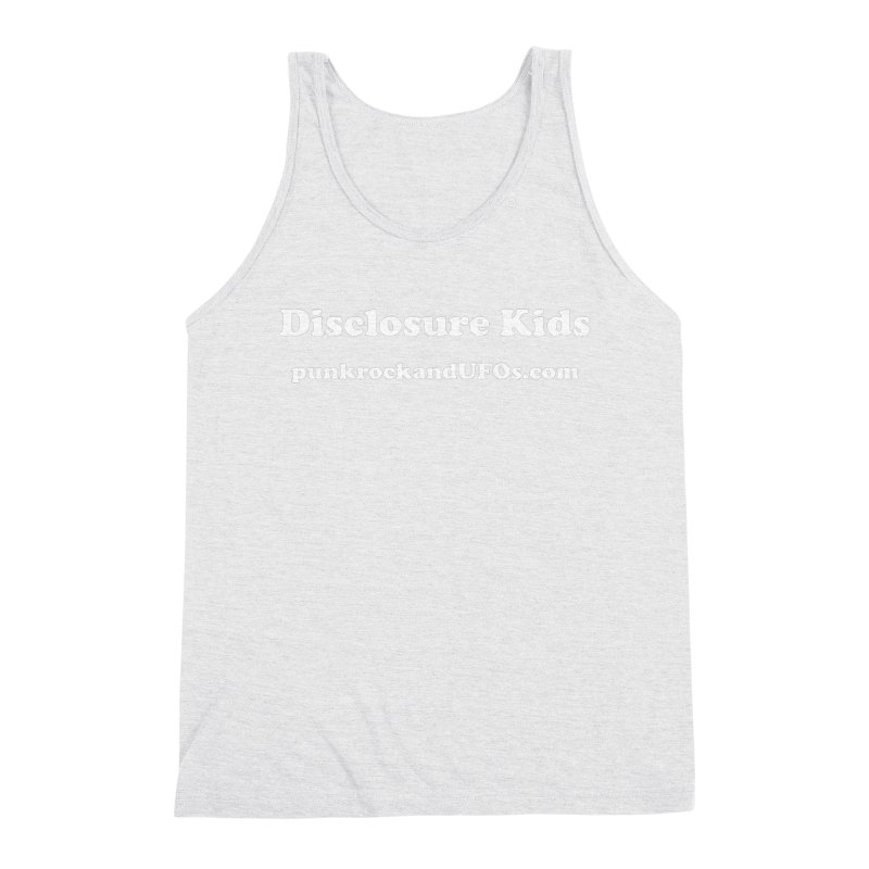 Disclosure Kids Men's Triblend Tank by punkrockandufos's Artist Shop
