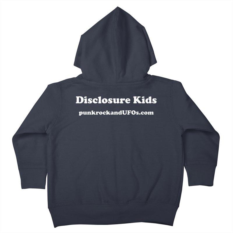 Disclosure Kids Kids Toddler Zip-Up Hoody by punkrockandufos's Artist Shop