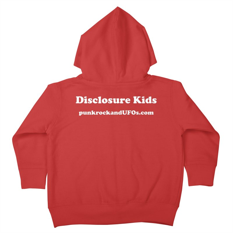 Disclosure Kids Kids Toddler Zip-Up Hoody by punkrockandufos's Artist Shop