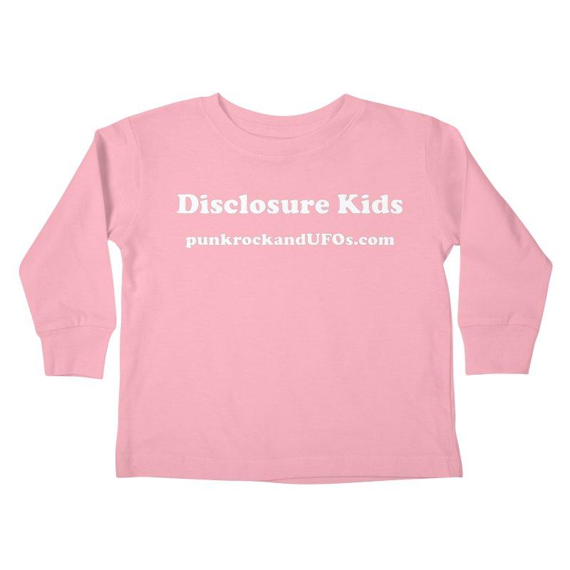 Disclosure Kids Kids Toddler Longsleeve T-Shirt by punkrockandufos's Artist Shop