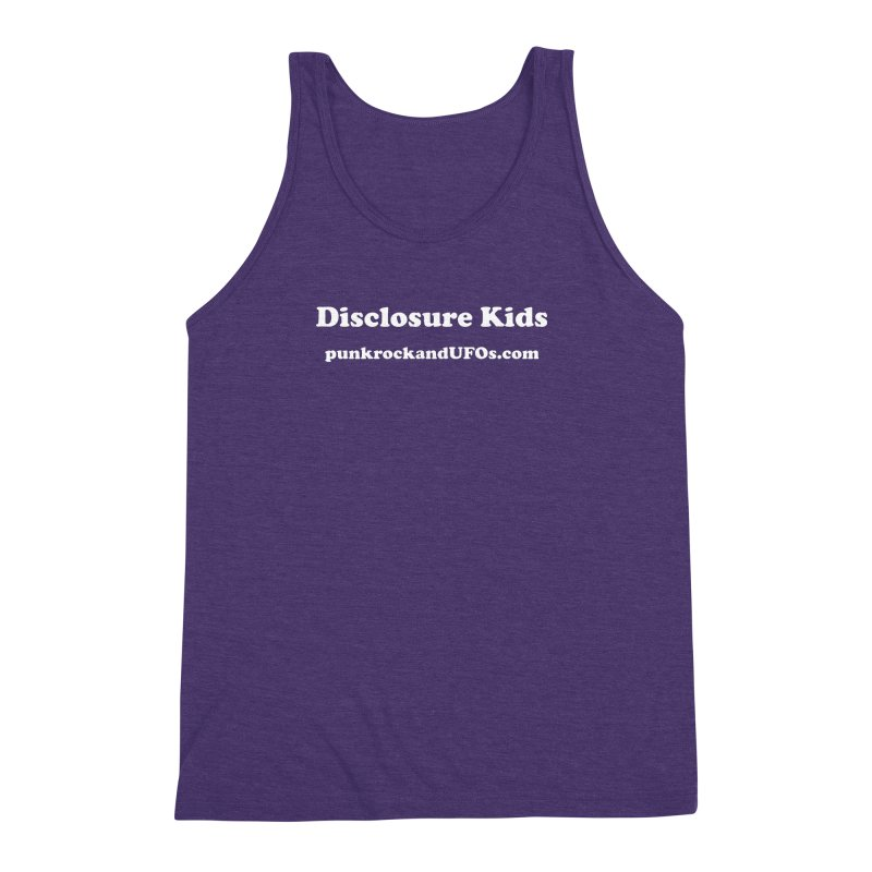 Disclosure Kids Men's Triblend Tank by punkrockandufos's Artist Shop
