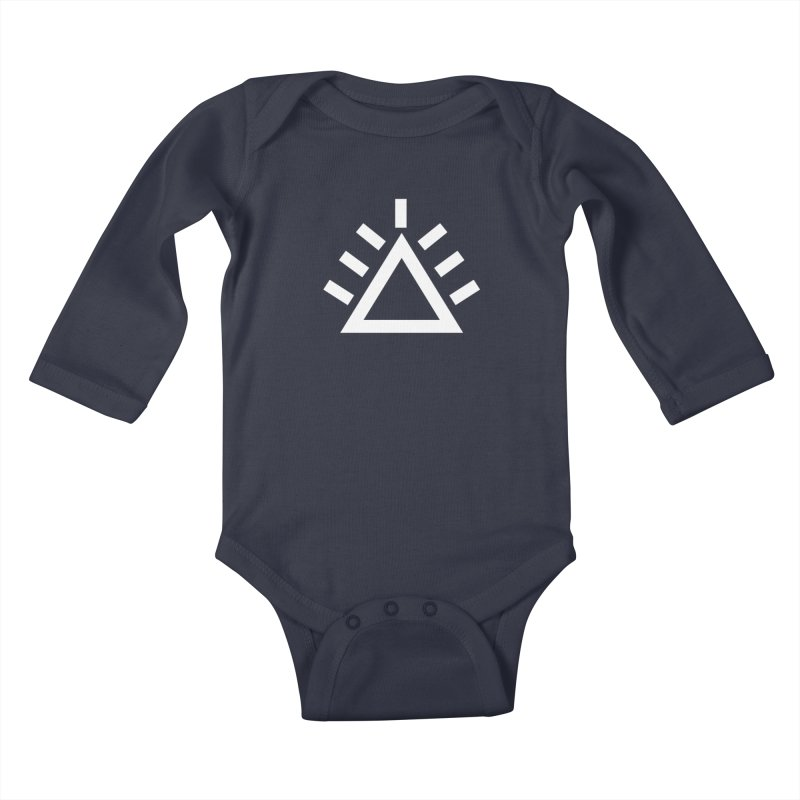 ICON Kids Baby Longsleeve Bodysuit by punkrockandufos's Artist Shop