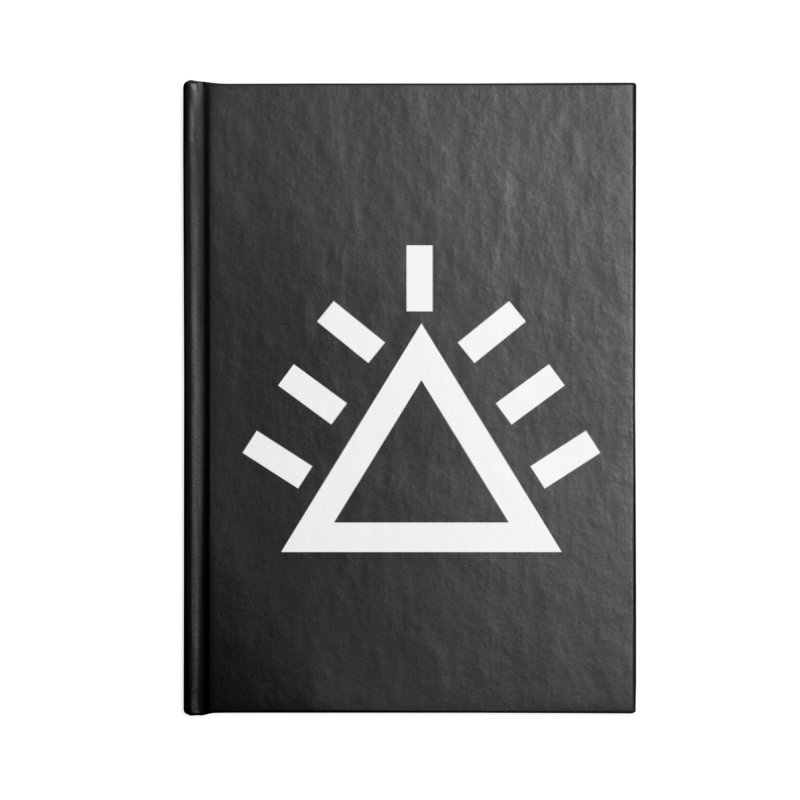 ICON Accessories Blank Journal Notebook by punkrockandufos's Artist Shop