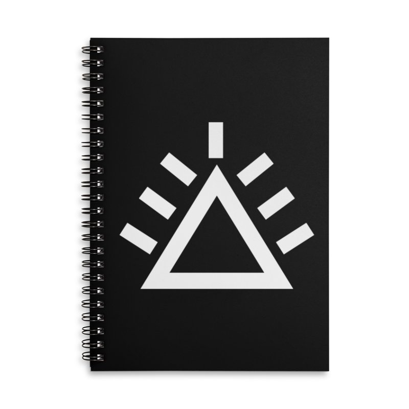 ICON Accessories Lined Spiral Notebook by punkrockandufos's Artist Shop