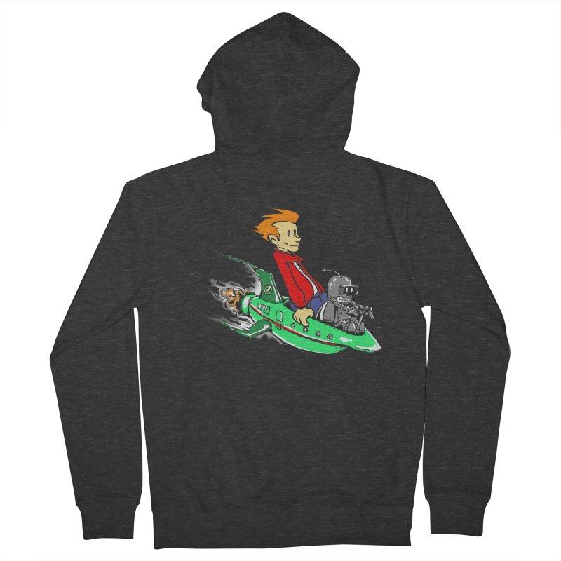 Bender & Fry Women's Zip-Up Hoody by punksthetic's Artist Shop