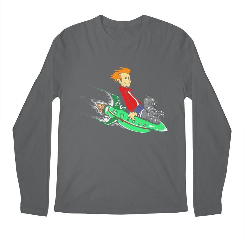 Bender & Fry Men's Longsleeve T-Shirt by punksthetic's Artist Shop