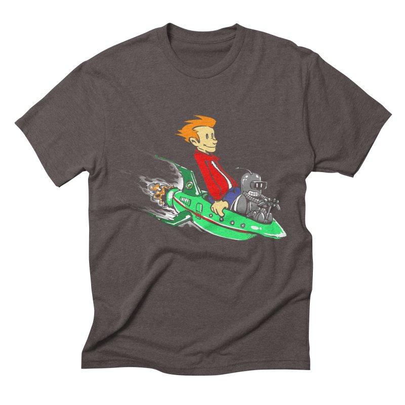Bender & Fry Men's Triblend T-shirt by punksthetic's Artist Shop