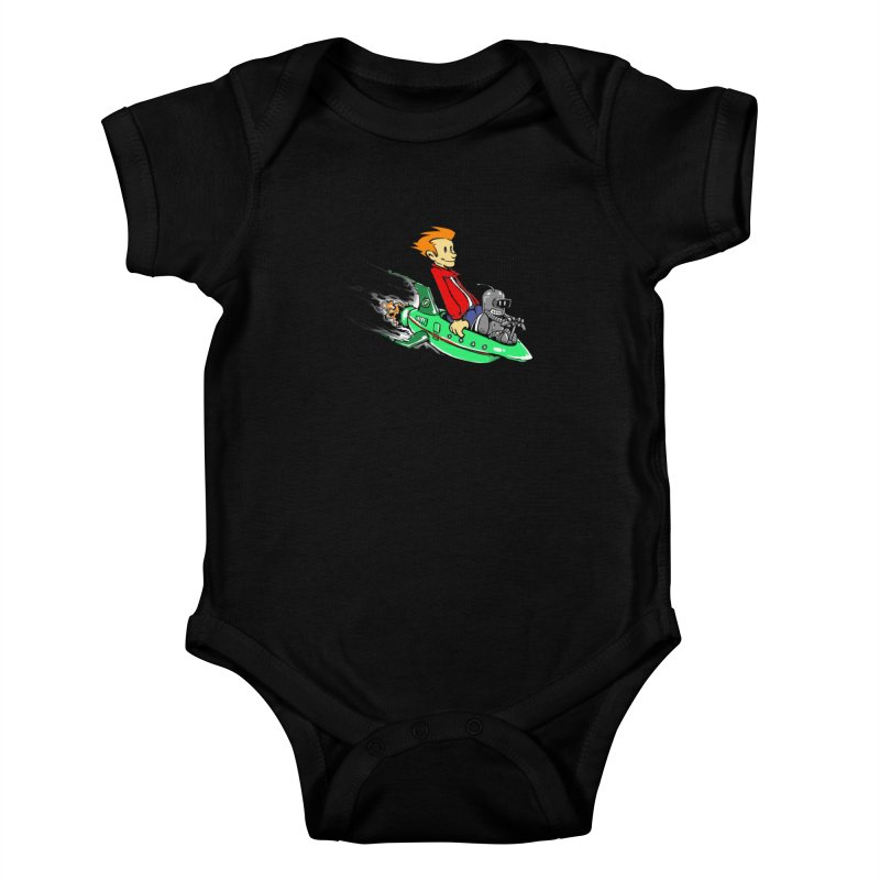 Bender & Fry Kids Baby Bodysuit by punksthetic's Artist Shop