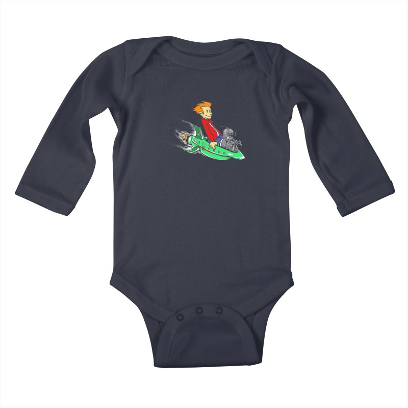 Bender & Fry Kids Baby Longsleeve Bodysuit by punksthetic's Artist Shop