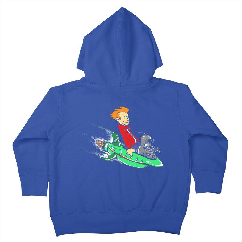 Bender & Fry Kids Toddler Zip-Up Hoody by punksthetic's Artist Shop