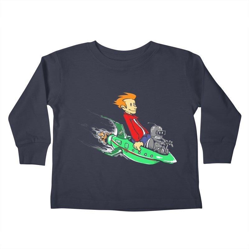 Bender & Fry Kids Toddler Longsleeve T-Shirt by punksthetic's Artist Shop