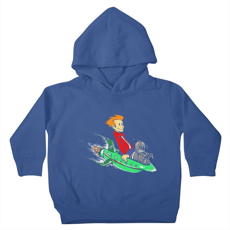 Bender & Fry Kids Toddler Pullover Hoody by punksthetic's Artist Shop