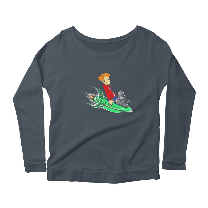 Bender & Fry Women's Longsleeve Scoopneck  by punksthetic's Artist Shop