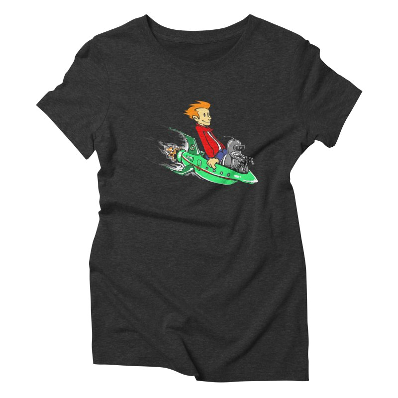 Bender & Fry Women's Triblend T-shirt by punksthetic's Artist Shop