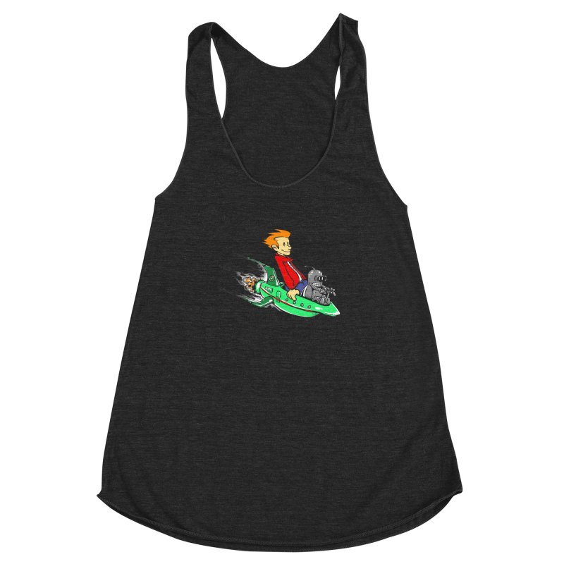Bender & Fry Women's Racerback Triblend Tank by punksthetic's Artist Shop