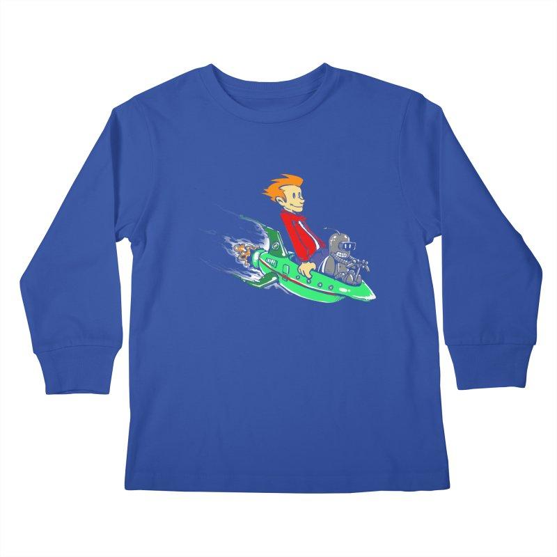 Bender & Fry Kids Longsleeve T-Shirt by punksthetic's Artist Shop
