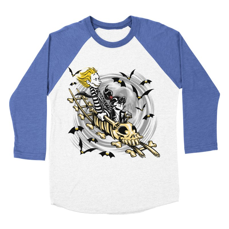 Calvydia & Beetlehobbes Women's Baseball Triblend T-Shirt by punksthetic's Artist Shop