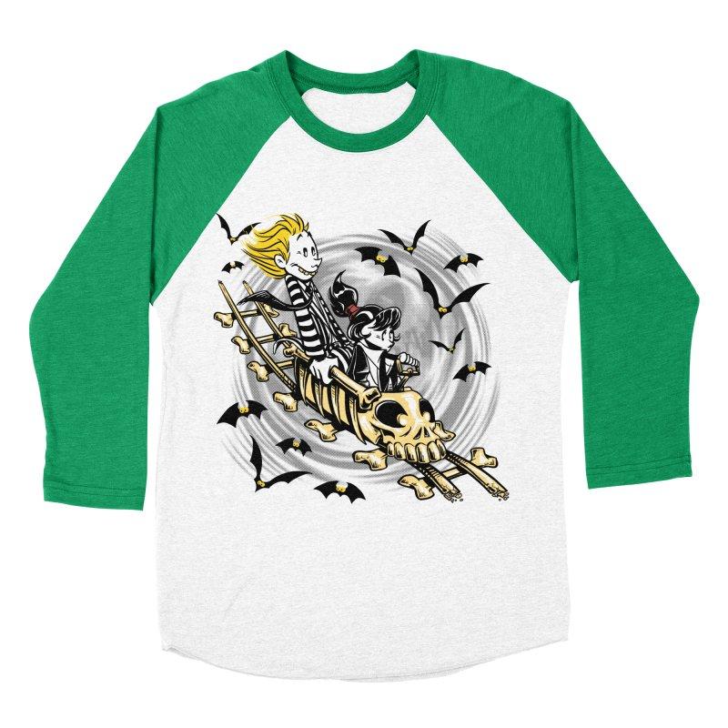 Calvydia & Beetlehobbes Men's Baseball Triblend T-Shirt by punksthetic's Artist Shop
