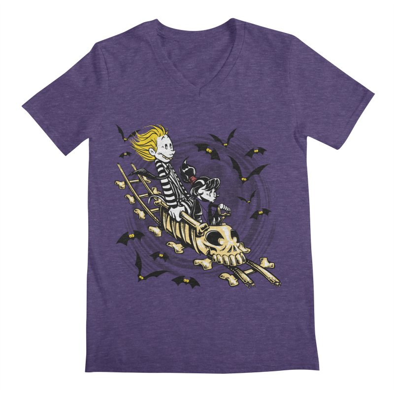 Calvydia & Beetlehobbes Men's V-Neck by punksthetic's Artist Shop