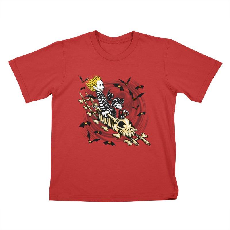 Calvydia & Beetlehobbes Kids T-Shirt by punksthetic's Artist Shop