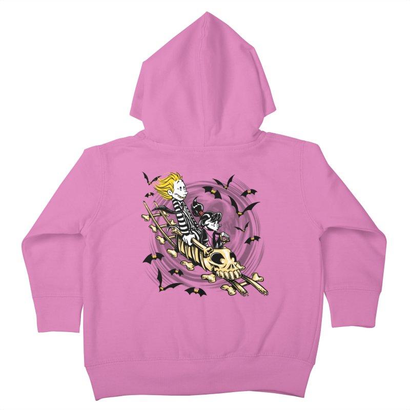 Calvydia & Beetlehobbes Kids Toddler Zip-Up Hoody by punksthetic's Artist Shop