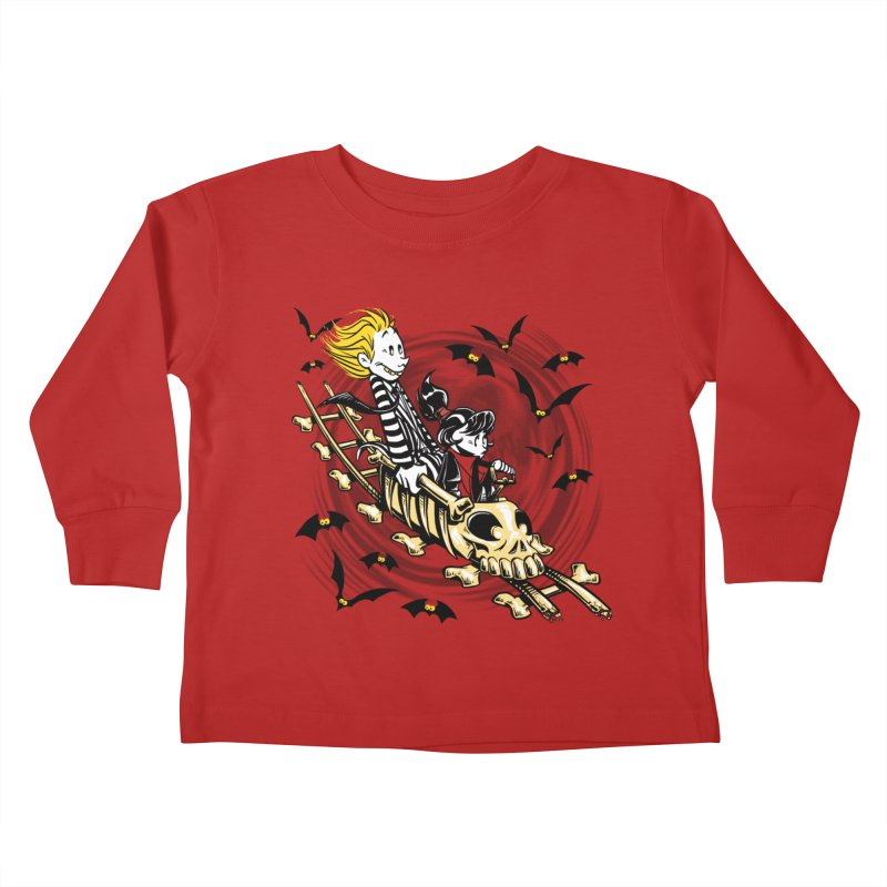Calvydia & Beetlehobbes Kids Toddler Longsleeve T-Shirt by punksthetic's Artist Shop