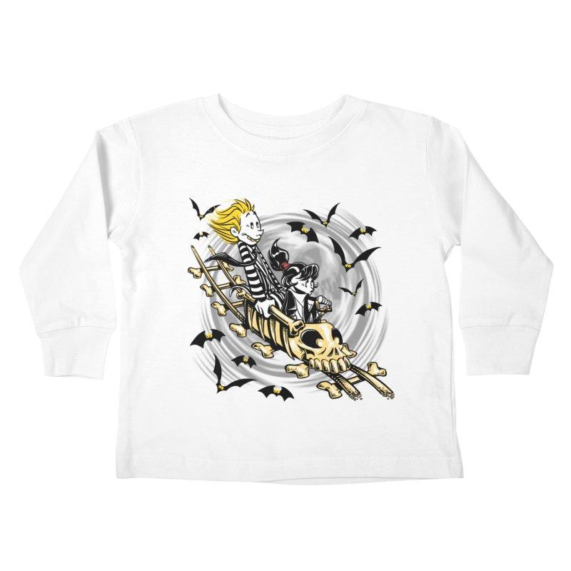 Calvydia & Beetlehobbes Kids Toddler Longsleeve T-Shirt by punksthetic's Artist Shop