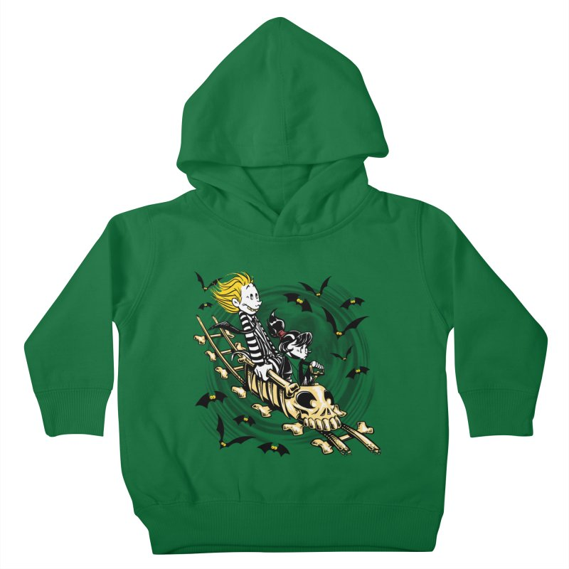 Calvydia & Beetlehobbes Kids Toddler Pullover Hoody by punksthetic's Artist Shop