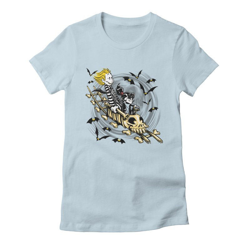 Calvydia & Beetlehobbes Women's Fitted T-Shirt by punksthetic's Artist Shop