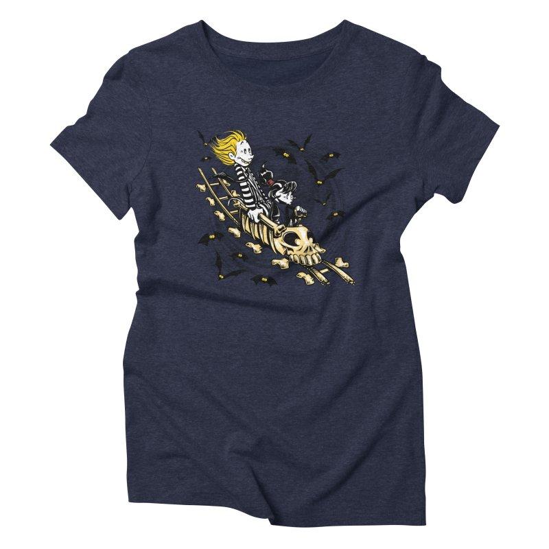 Calvydia & Beetlehobbes Women's Triblend T-Shirt by punksthetic's Artist Shop