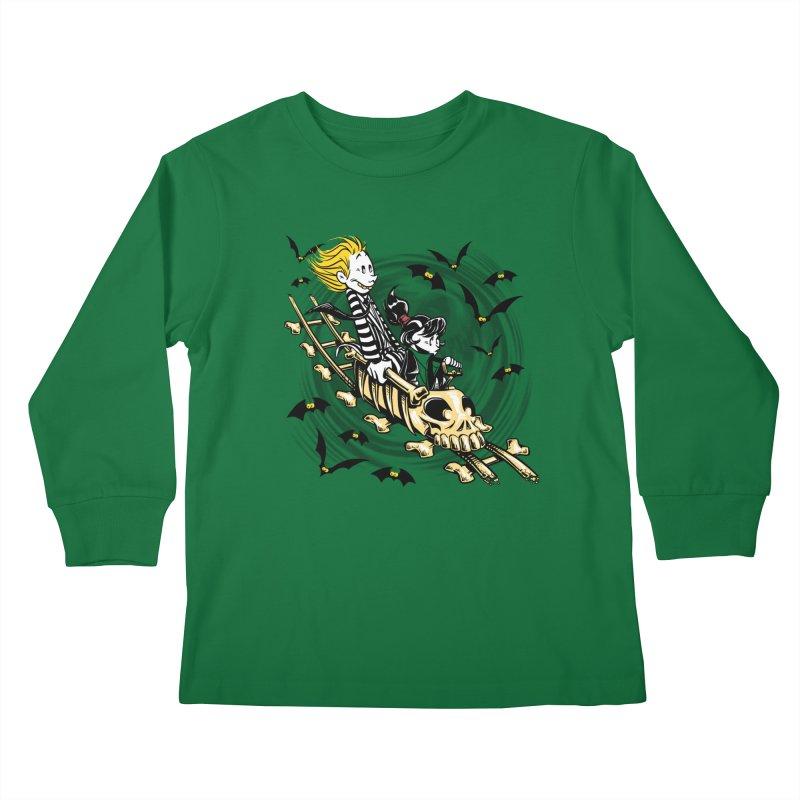 Calvydia & Beetlehobbes Kids Longsleeve T-Shirt by punksthetic's Artist Shop