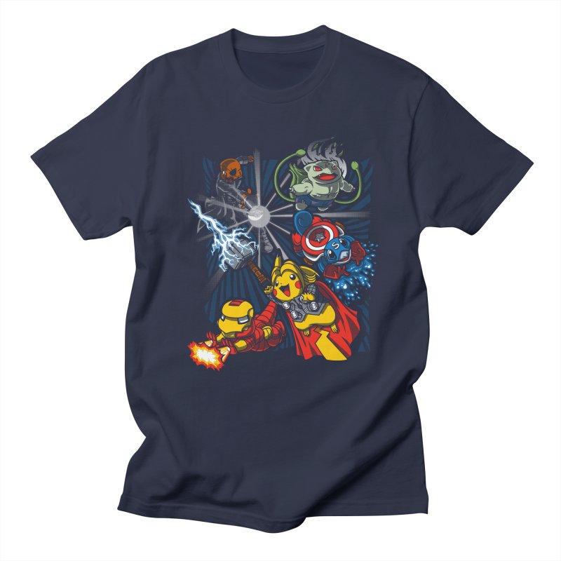Avengermon Men's T-Shirt by punksthetic's Artist Shop