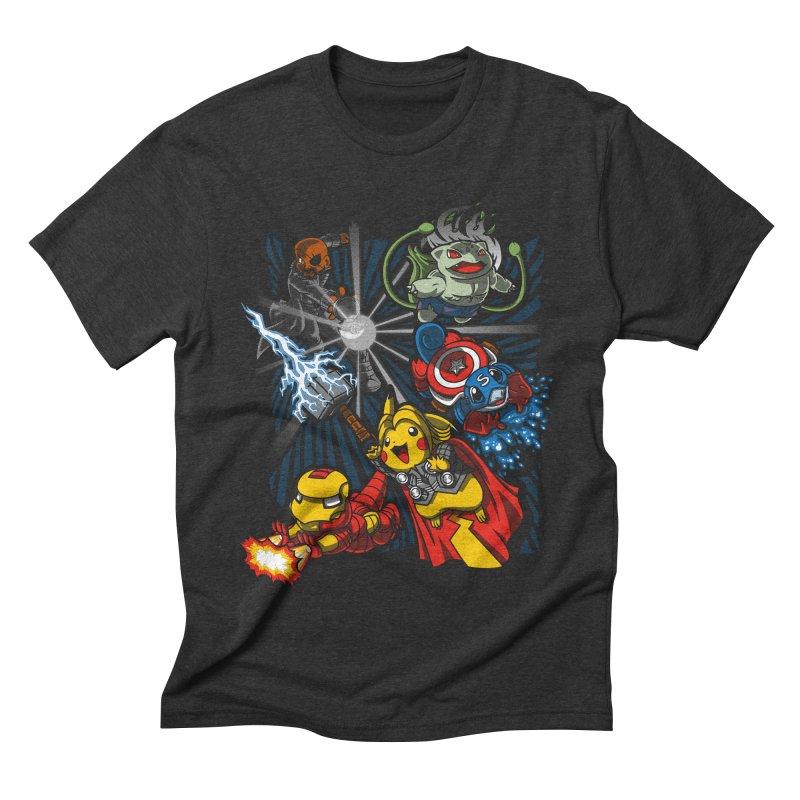 Avengermon Men's Triblend T-shirt by punksthetic's Artist Shop
