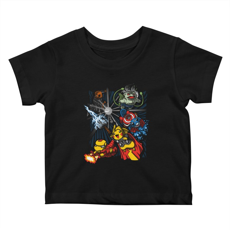 Avengermon Kids Baby T-Shirt by punksthetic's Artist Shop