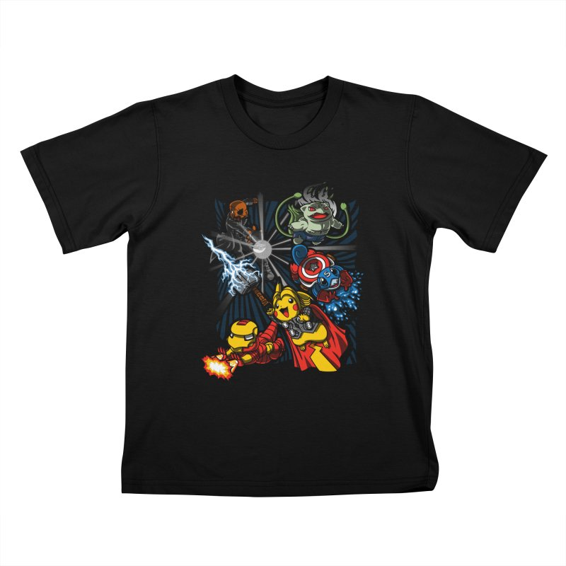 Avengermon Kids T-shirt by punksthetic's Artist Shop