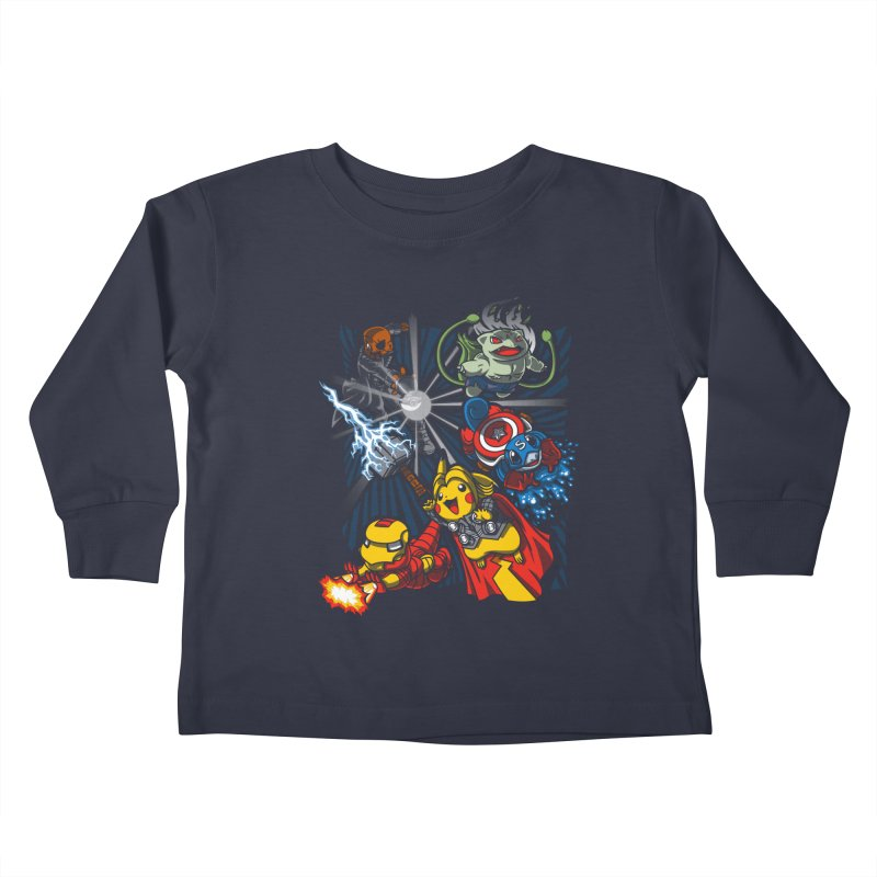 Avengermon Kids Toddler Longsleeve T-Shirt by punksthetic's Artist Shop