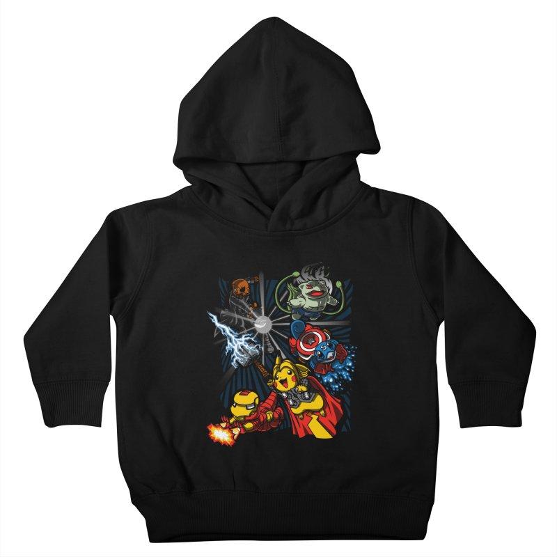 Avengermon Kids Toddler Pullover Hoody by punksthetic's Artist Shop