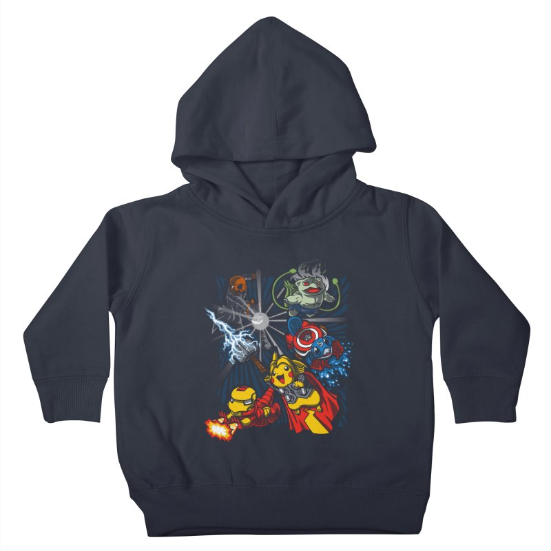 Avengermon Kids Toddler Pullover Hoody by punksthetic's Artist Shop
