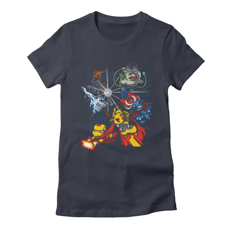 Avengermon Women's Fitted T-Shirt by punksthetic's Artist Shop