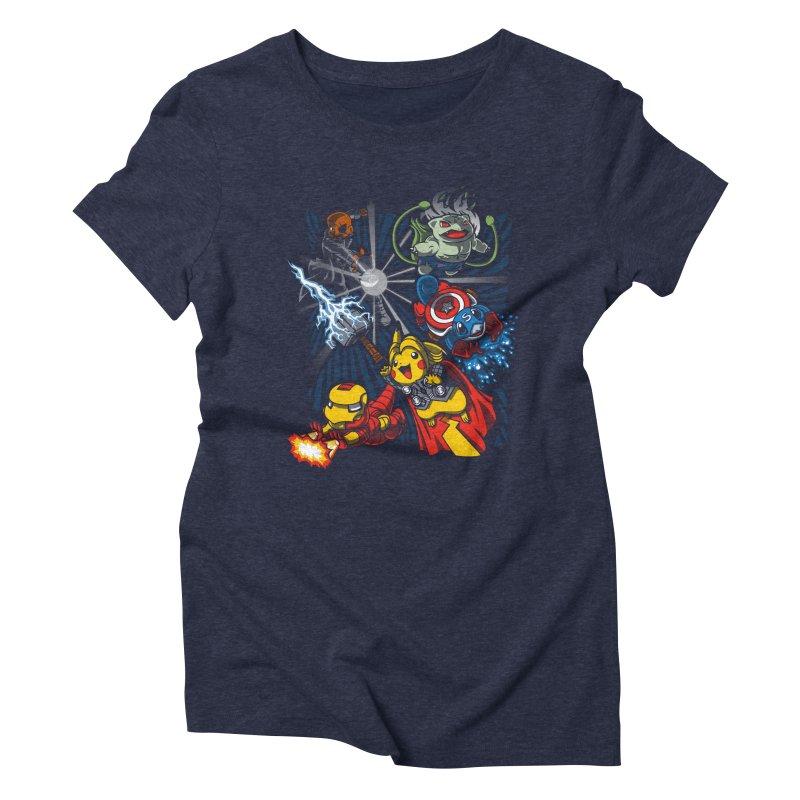 Avengermon Women's Triblend T-shirt by punksthetic's Artist Shop