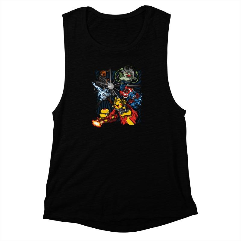 Avengermon Women's Muscle Tank by punksthetic's Artist Shop