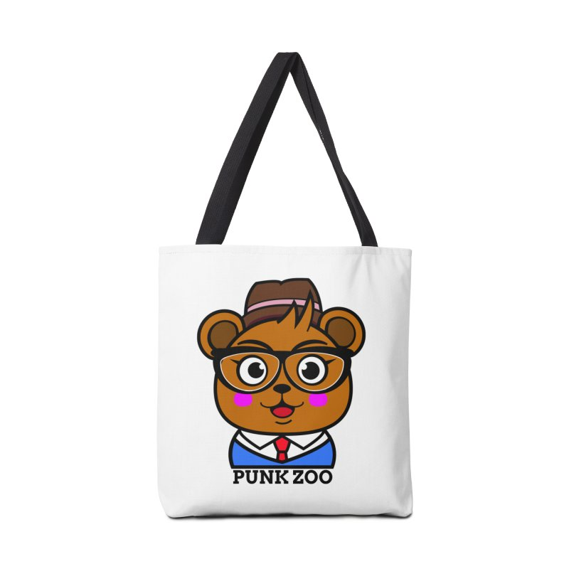 Hipster Bear Accessories Bag by Punk Zoo!