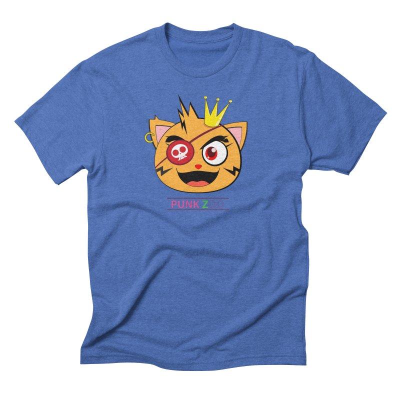 Punk Zoo King Neko Men's T-Shirt by punkzoo's Artist Shop